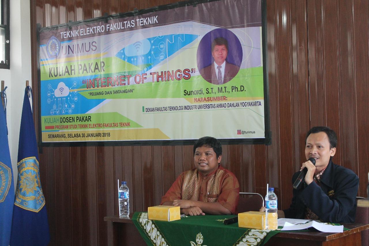 Kuliah Dosen Pakar Teknik Elektro
