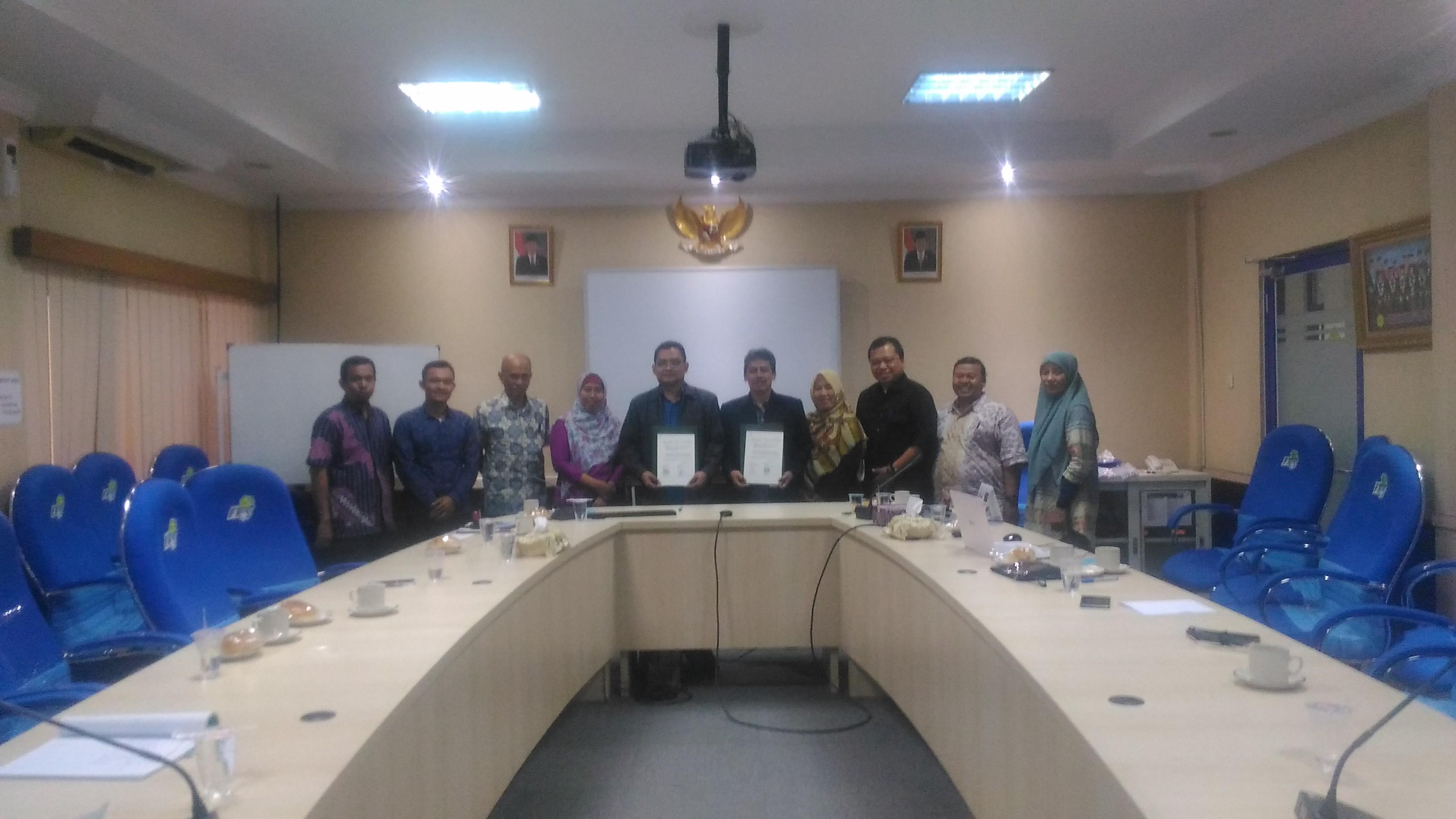 MOU FT Unimus dengan FT UMJ 2018.