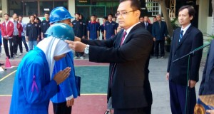 upacara penerimaan mahasiswa baru fakultas teknik unimus 2018.
