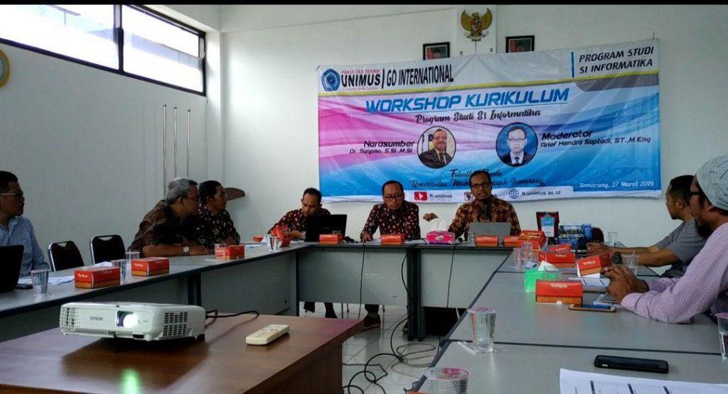 Dr.Suryono, S.Si, M.si. ketua APTIKOM Jawa Tengah