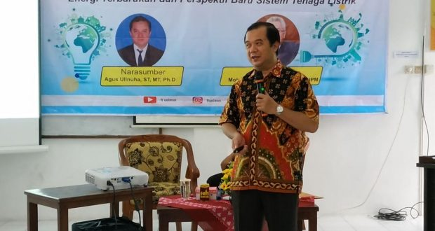 Agus Ulinuha. ST. MT., P.hD., Dosen Teknil Elektro auniversitas Muhammadiyah Surakarta (UMS)