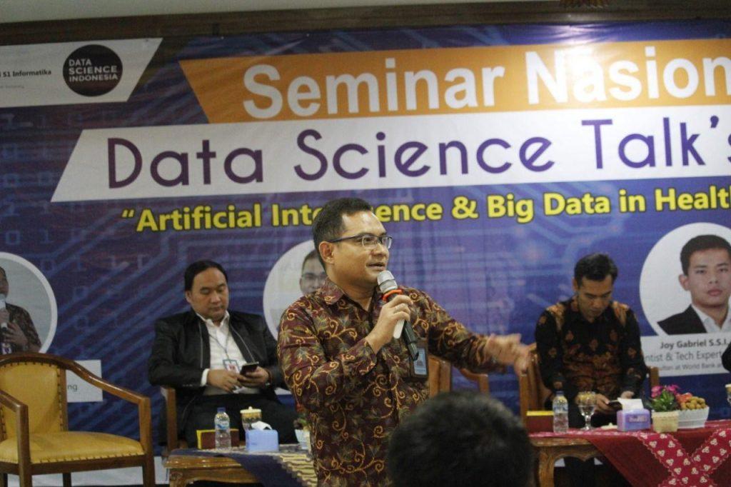 Dr.RM.Bagus Irawan W. M.Si, IPM. (Dekan Fakultas Teknik Unimus)